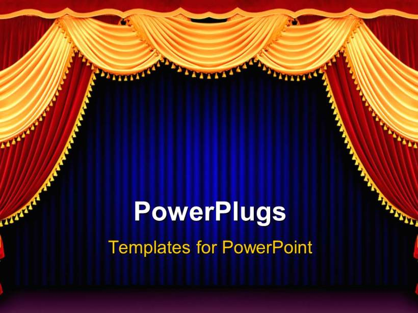 Curtain Powerpoint Templates Ppt Themes With Backgrounds