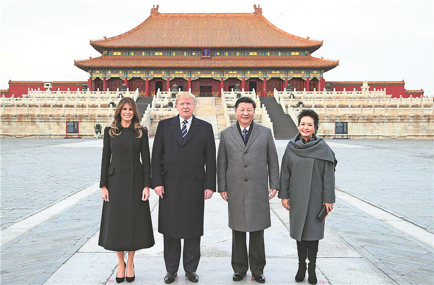 Xi Offers Hand of Friendship to Trump