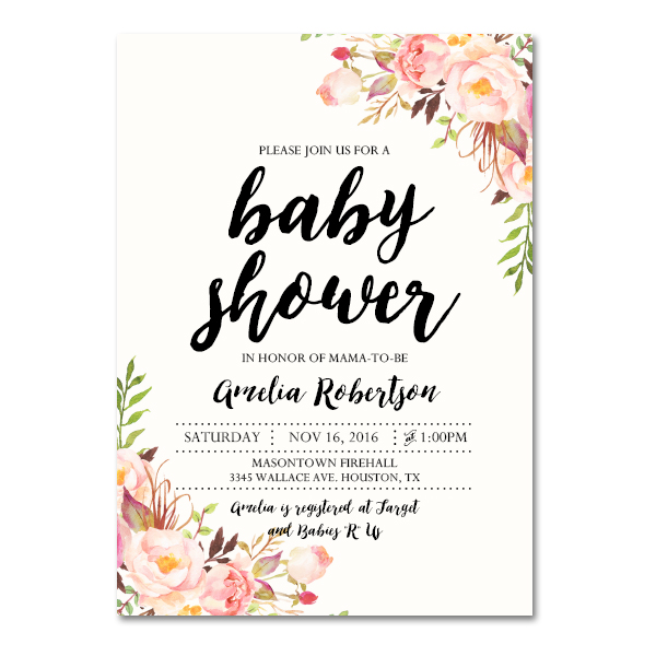Bridal Shower Invitations Order Online