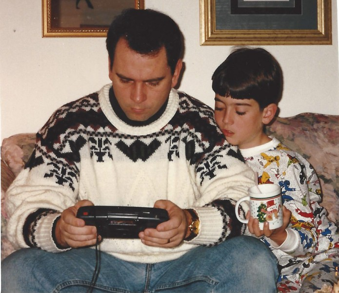 A Father can never play video games because of the Update