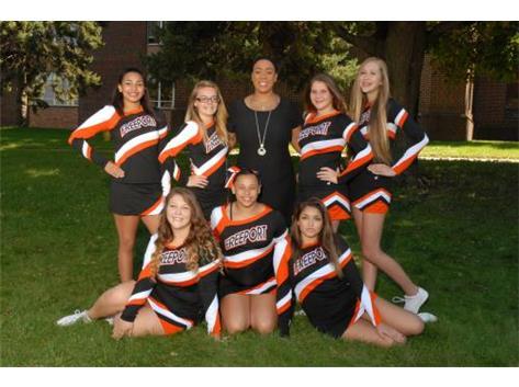 Freeport High School Girls Cheerleading Activities