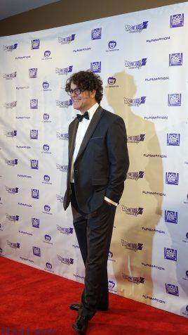Sean Schemmel walking the red carpet