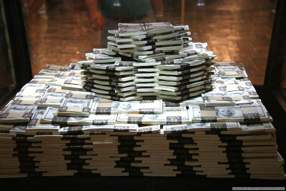 Image result for stacks of cash