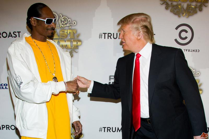 Image result for Snoop dogg and trump
