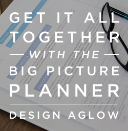 photographer planner for business by Design Aglow