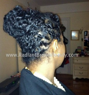 natural hairstyle picture