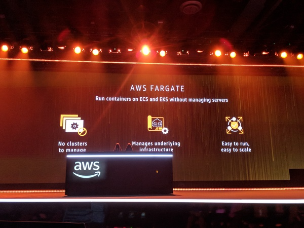 AWS Fargate lets you run containers without managing infrastructure