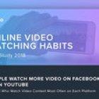 Les habitudes de visionnage des vidéos en ligne en 2018 (Étude)