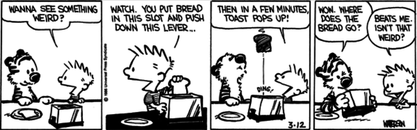 Calvin And Hobbes And Licensing Revue