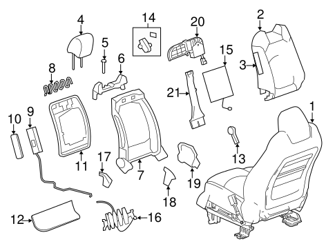 Diagram Gmc Acadia Suspension Diagram