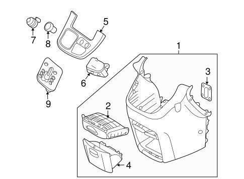 2000 Mazda B3000 Fuse Box