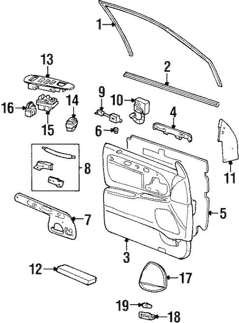 Diagram Belt Cadillac 49