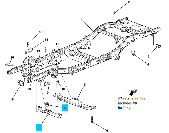 H3 Diagram Differential Front Hummer