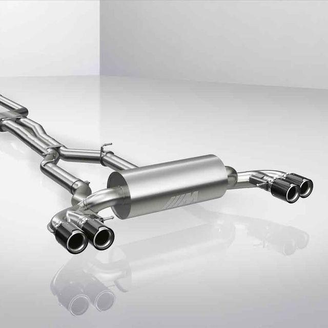f90 m5 m5 lci m performance titanium exhaust system