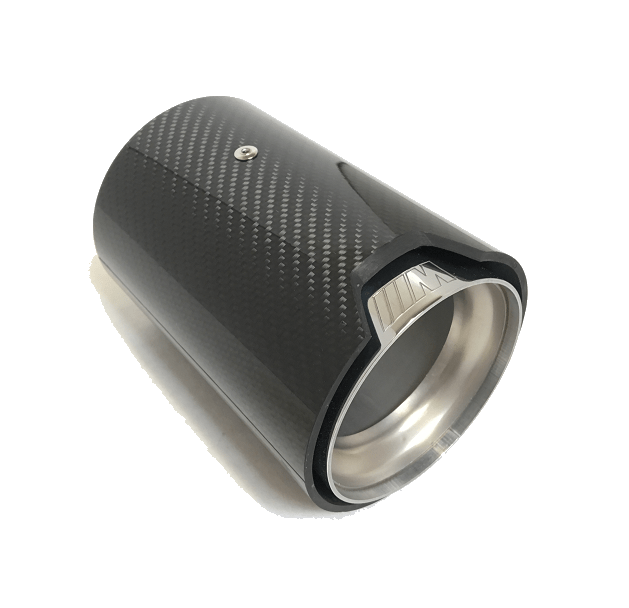 m performance carbon fiber exhaust tip