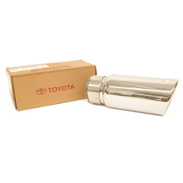 oem new chrome exhaust tip 2016 2019 toyota tacoma