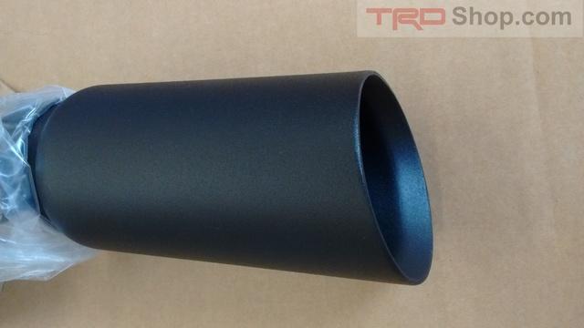 exhaust tip black tundra 5 7l 2014