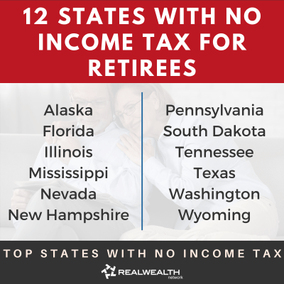 12 States with No Income Tax for Retirees