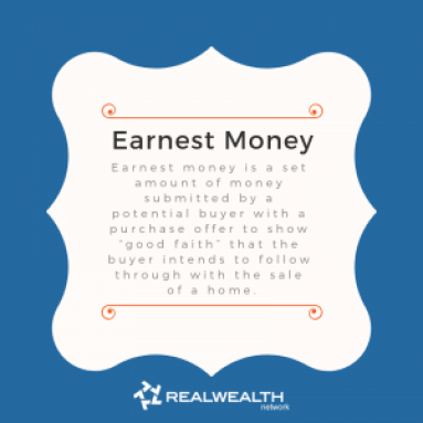 Definition of Earnest Money image