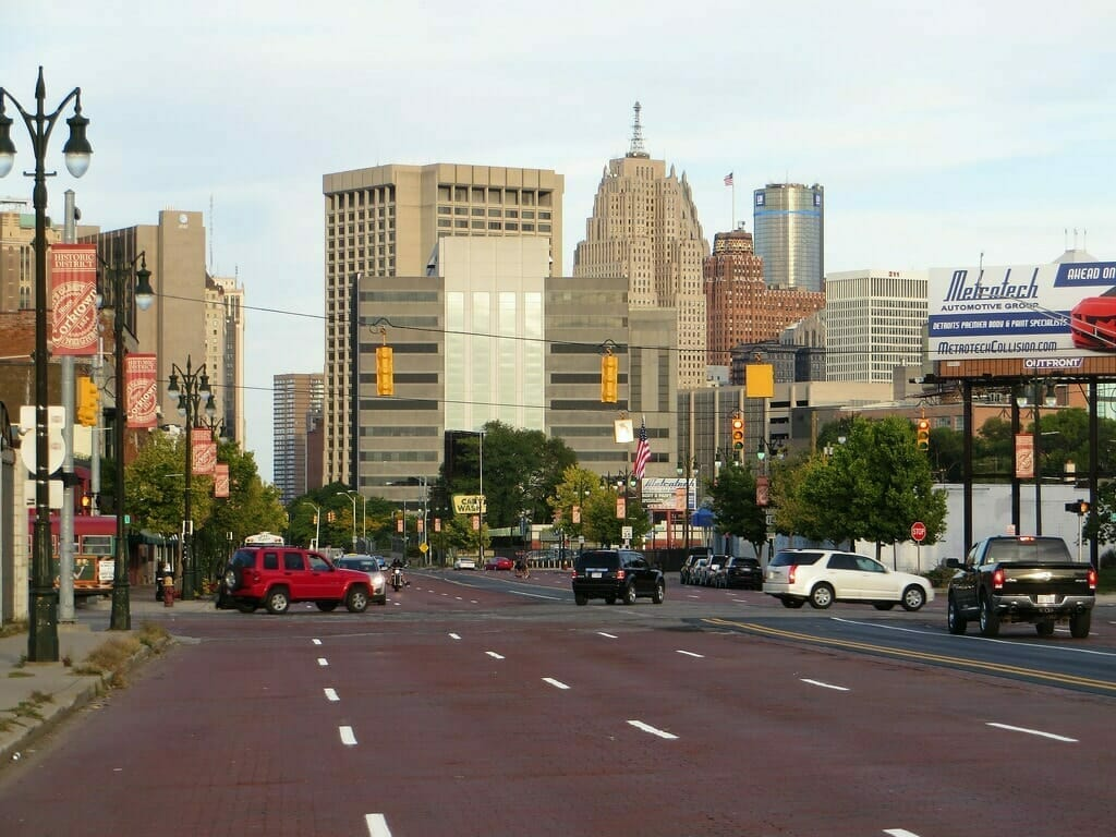 Picture of Corktown, Downtown Detroit, Michigan