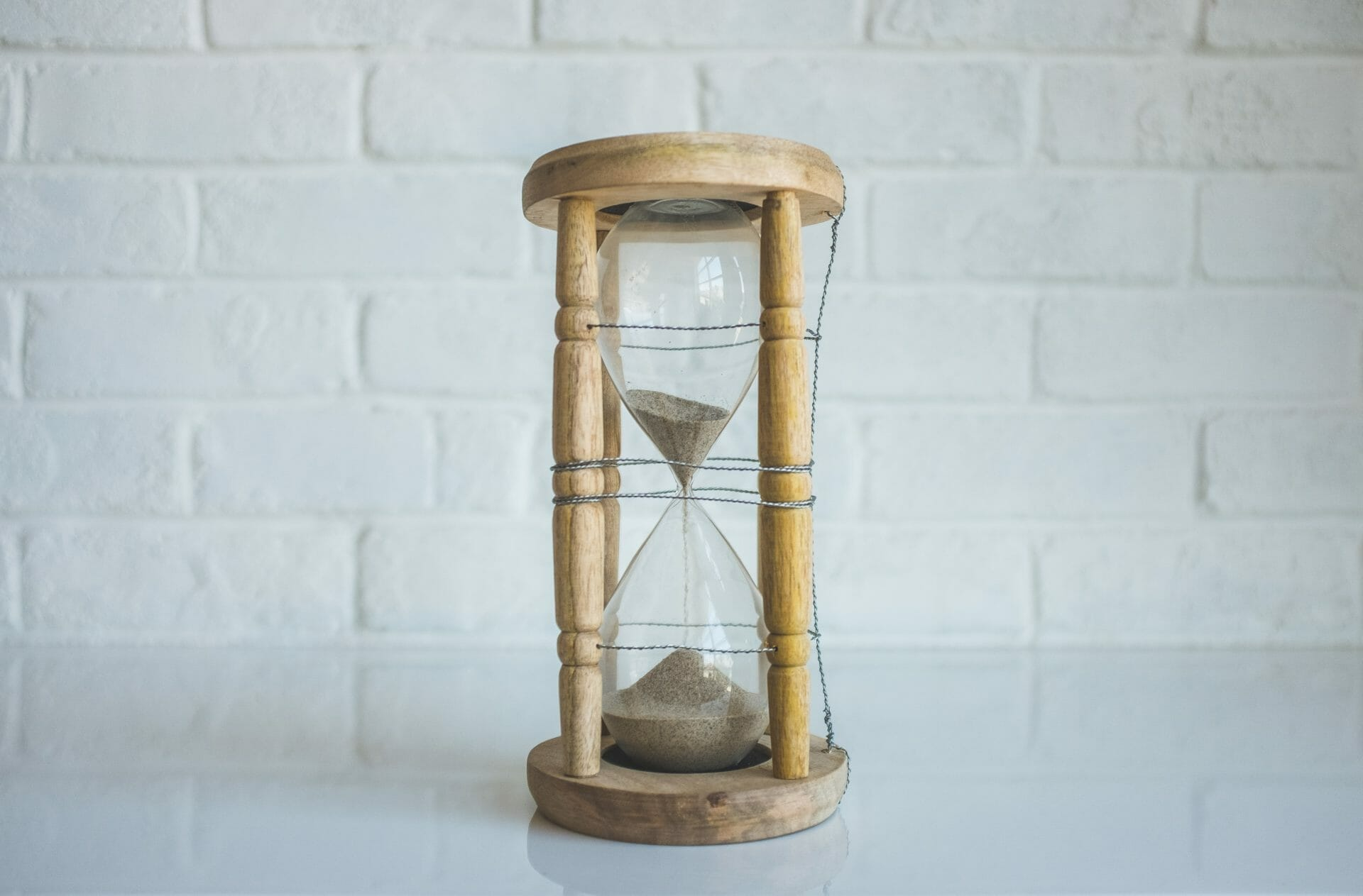 picture of sand timer for Real Estate News for Investors Podcast Episode #350