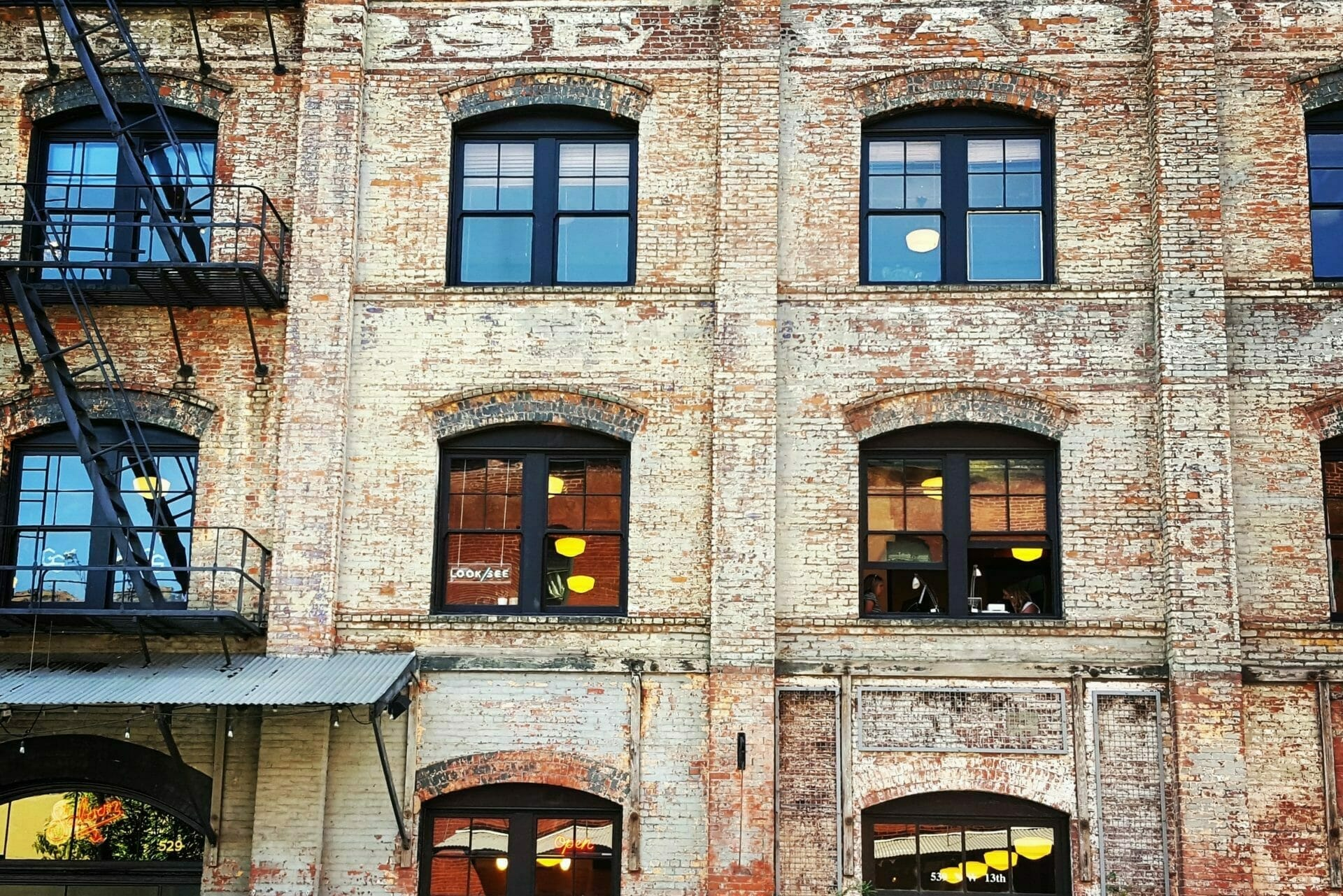 Picture of old re-purposed building for Real Estate News for Investors Podcast Episode #371