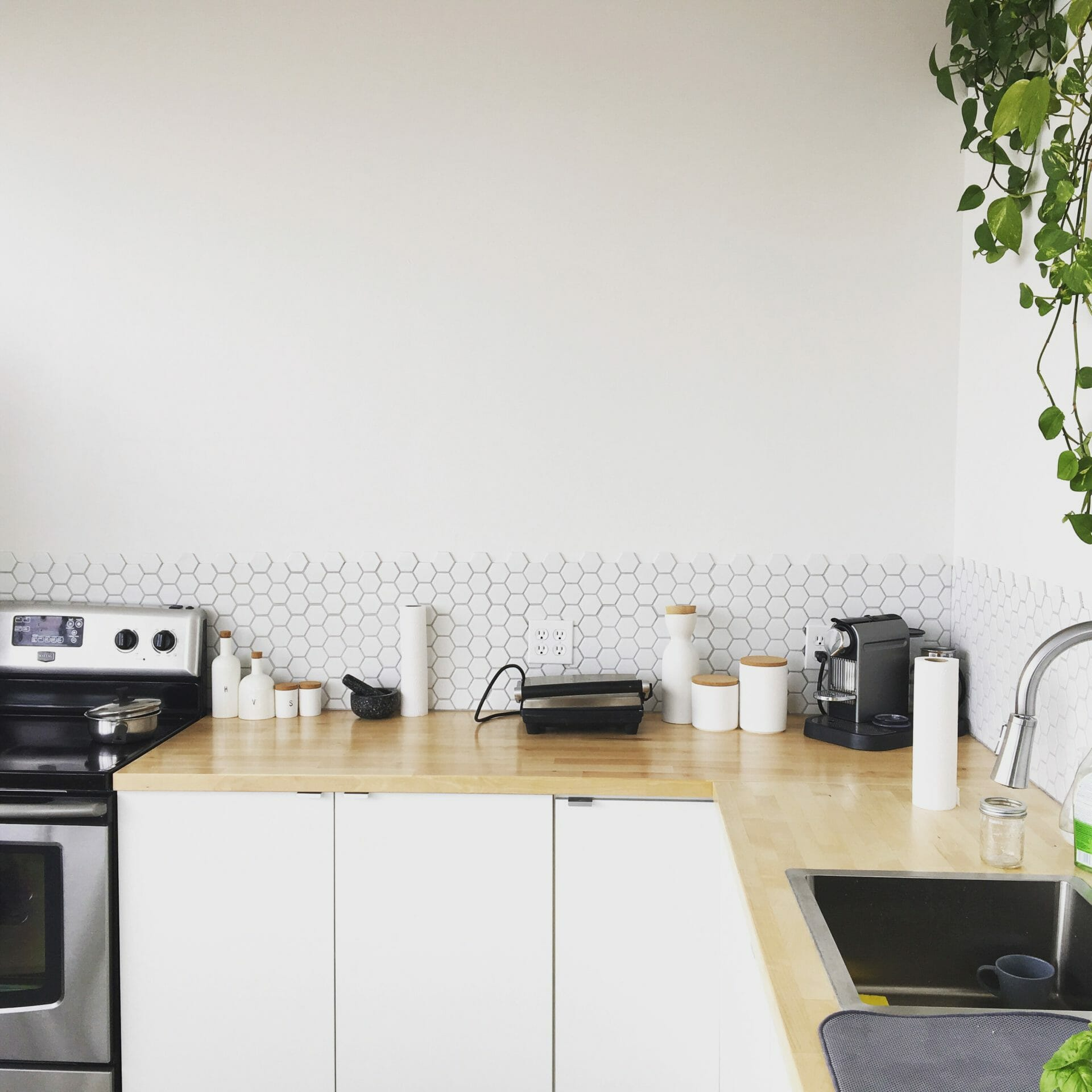 Picture of simple kitchen for Real Estate News for Investors Podcast Episode #533