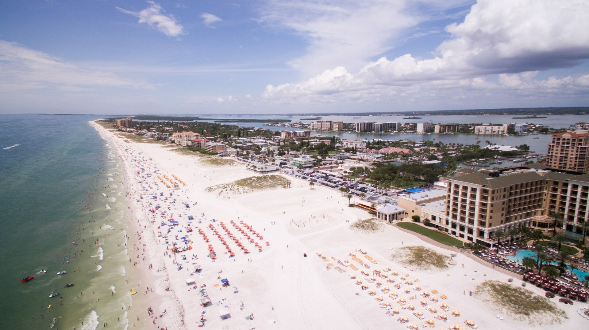 Picture of Beach in Tampa for Real Estate News for Investors Podcast Episode #678