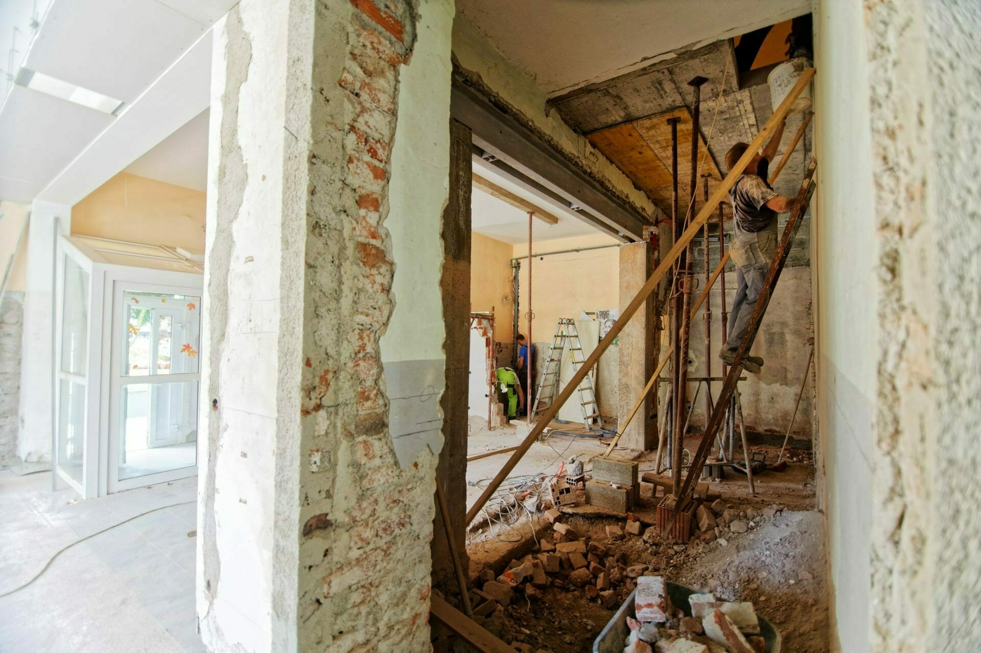 Picture of remodeling house for Real Estate News for Investors Podcast Episode #695