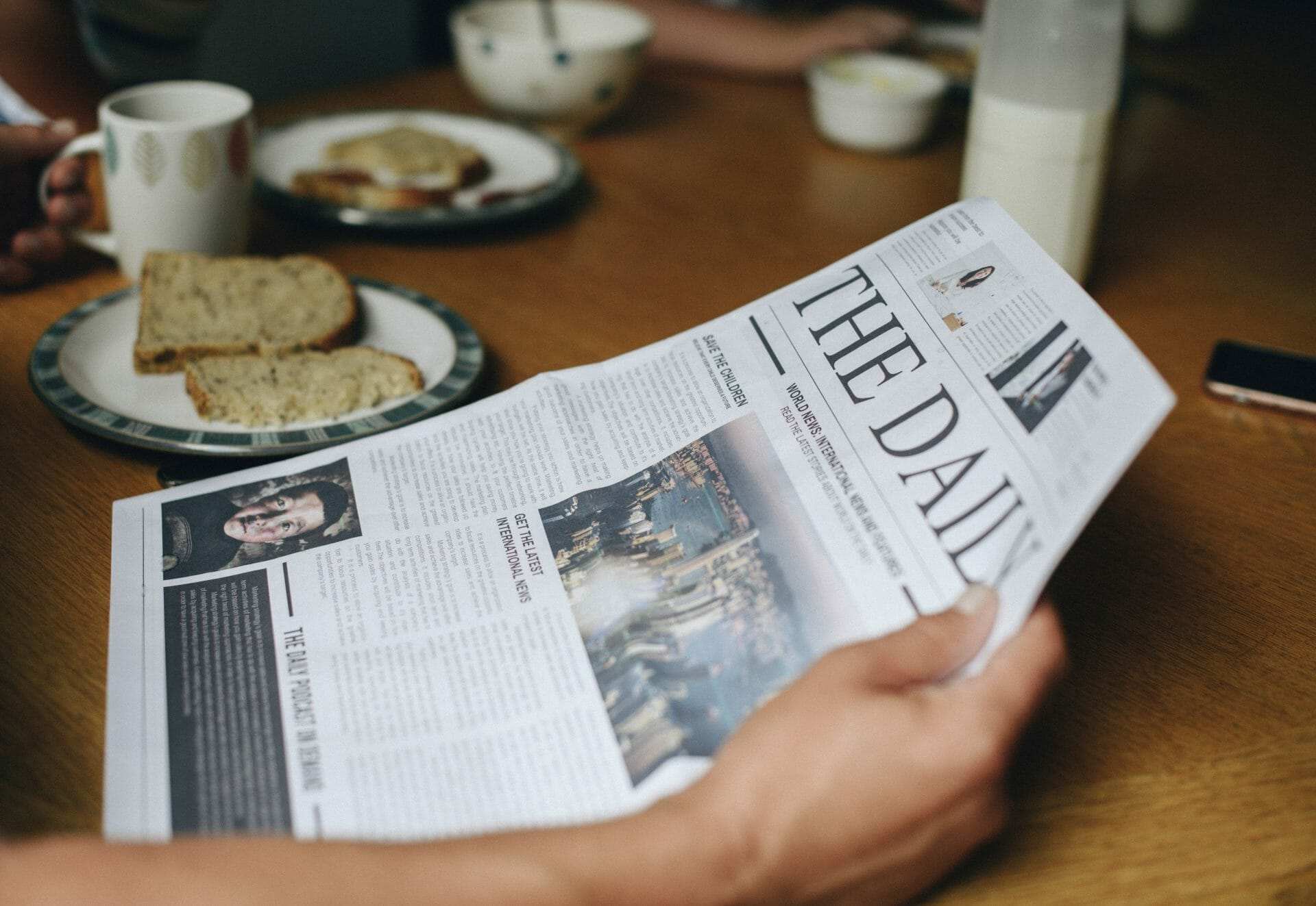 Picture of a Newspaper for Real Estate News for Investors Podcast Episode #696