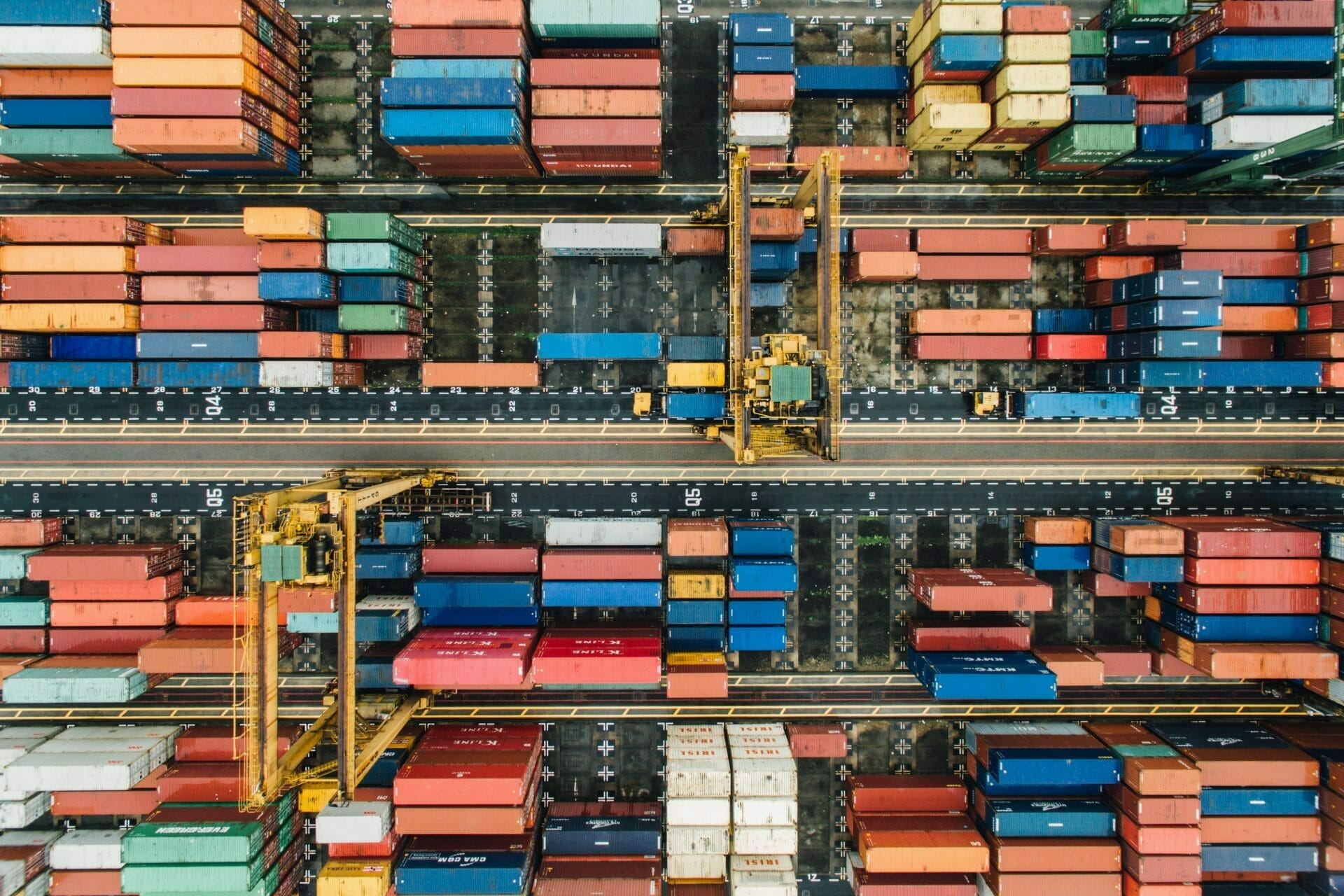 Stacks of shipping containers for Real Estate News for Investors Podcast Episode #737