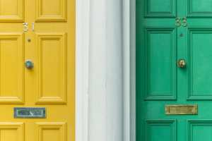picture of two doors for Real Wealth Show Podcast Episode 613