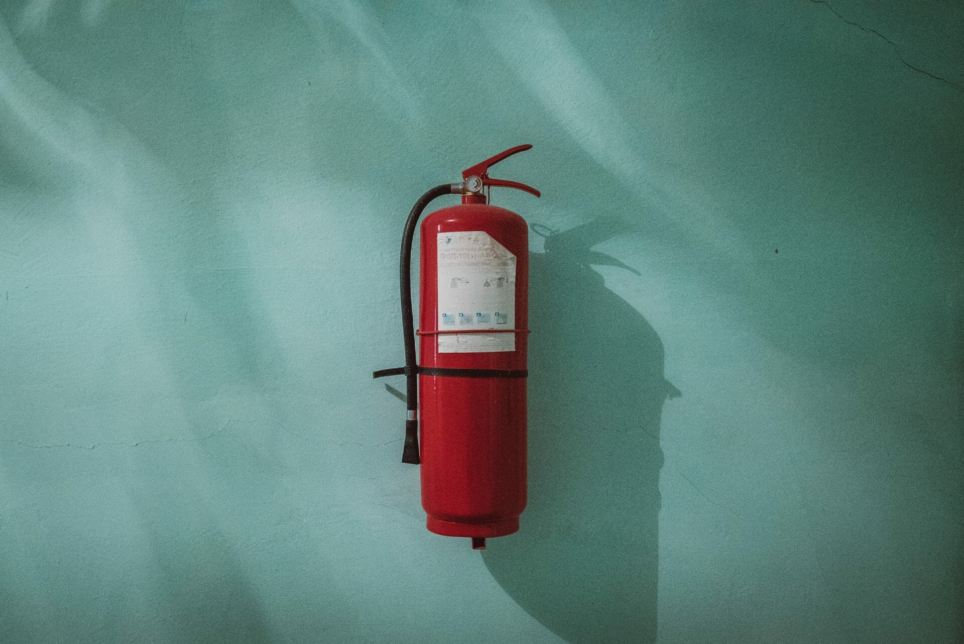 picture of fire extinguisher for Real Wealth Show Podcast Episode #593