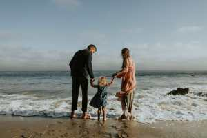 Picture of a Family at the Beach for Real Wealth Show Podcast Episode #678
