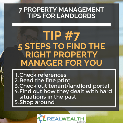 Image Highlighting the 5 Steps to Find the Right Property Manager For You