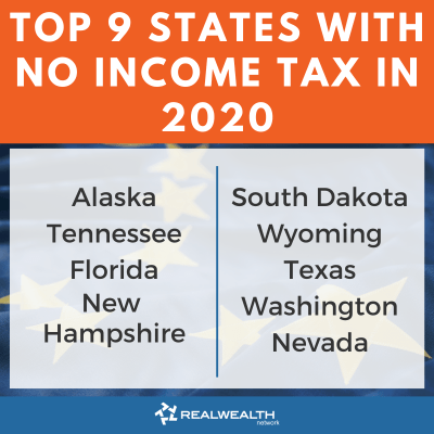 Top 9 States with No Income Tax 2020