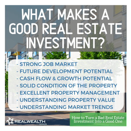 What Makes a Good Real Estate Investment image 2