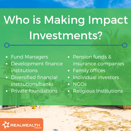 Who is Making Impact Investments image