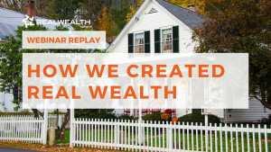 How We Created Wealth - Webinar