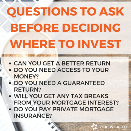 Questions to Ask Before Deciding Where to Invest