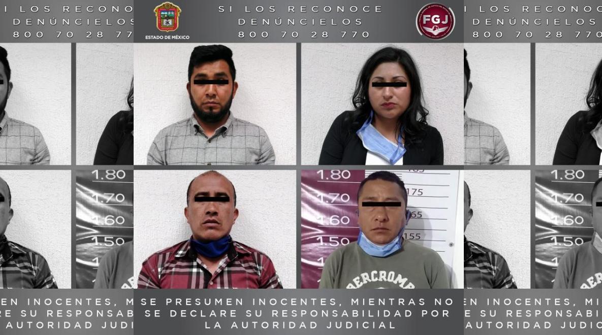 FGJEM CUMPLIMENTA ORDEN DE APREHENSIÓN EN CONTRA DE CUATRO PROBABLES ASALTANTES