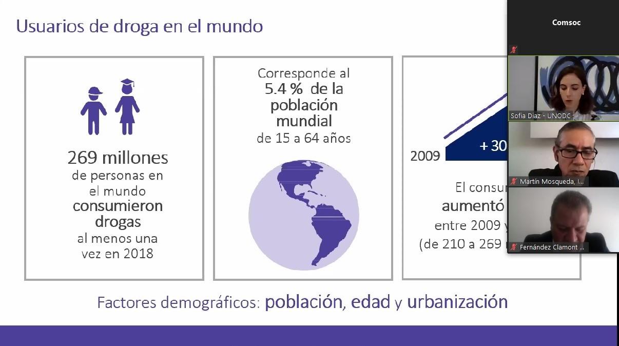 COORDINAN ACCIONES AUTORIDADES Y SOCIEDAD PARA EL COMBATE AL TRÁFICO DE DROGAS