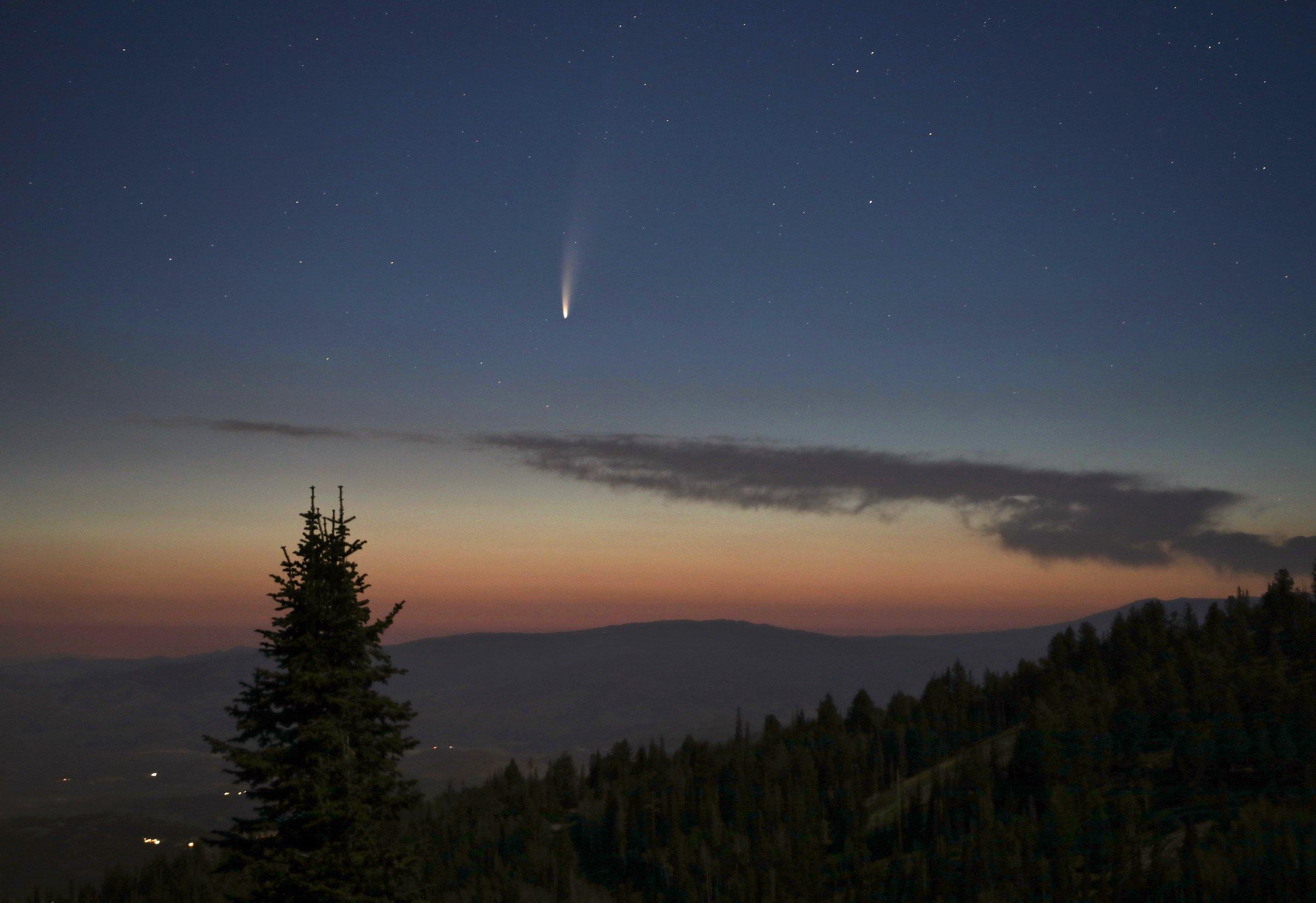 ¿CUÁNDO Y CÓMO VER EL COMETA NEOWISE?