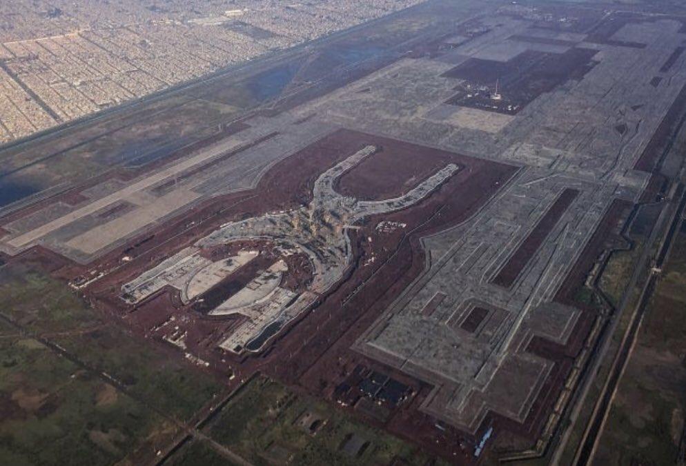 CONSTRUIRÁN GRAN PARQUE ECOLÓGICO EN EL NUEVO AEROPUERTO EN TEXCOCO