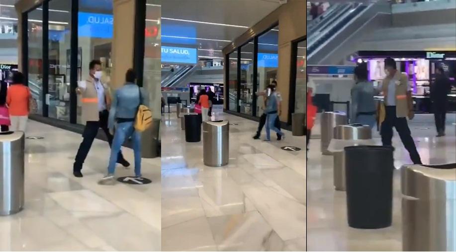 VIDEO: MUJERES IGNORAN FILTRO SANITARIO Y ENTRAN A LA FUERZA A PERISUR