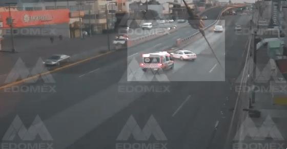 CÁMARA DEL C5 CAPTA CHOQUE EN LA LECHERÍA-TEXCOCO