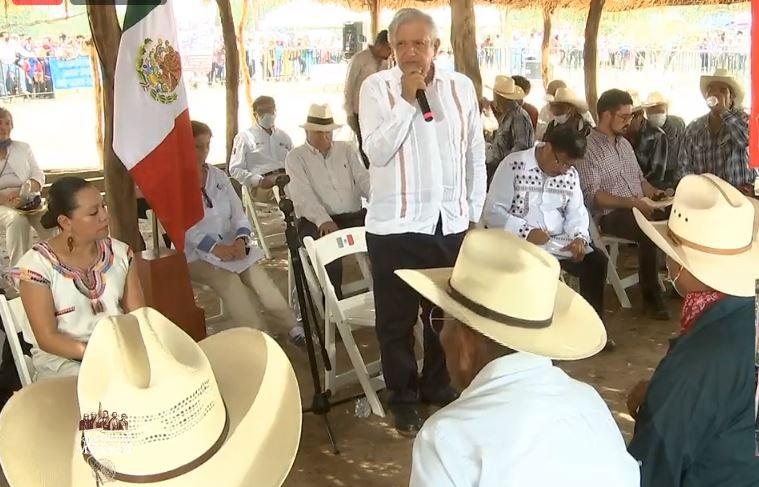PLAN DE JUSTICIA, ACUERDO ENTRE AMLO Y EL PUEBLO YAQUI