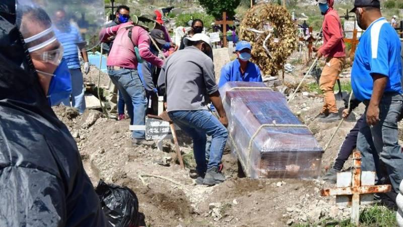 SEGÚN ESTIMACIONES MÉXICO PODRÍA LLEGAR A 157 MIL MUERTES POR COVID-19 EN ENERO