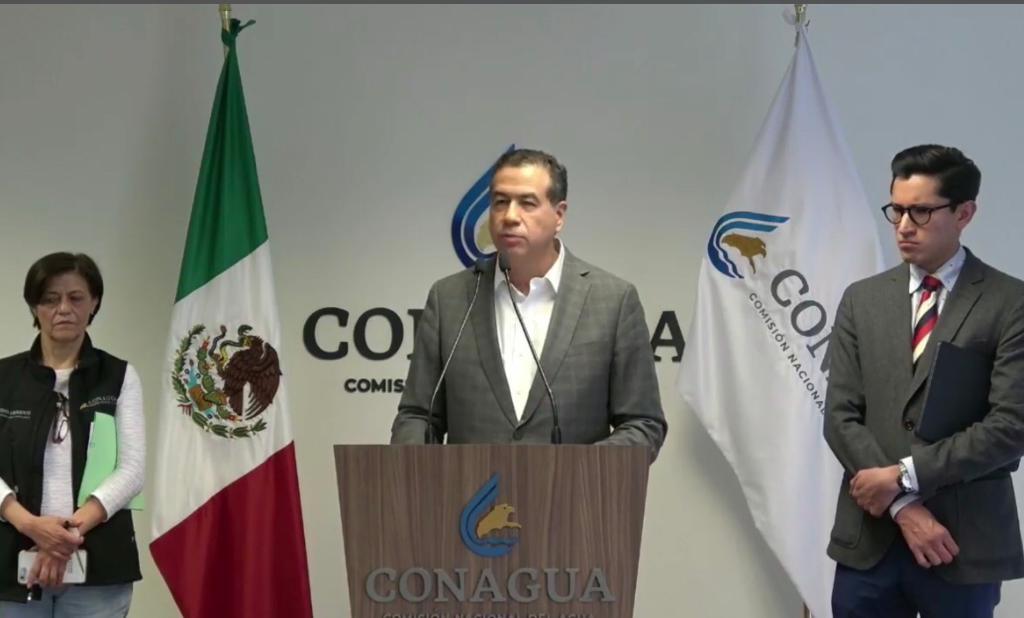 PREOCUPA A CONAGUA CUMPLIMIENTO DEL TRATADO DE AGUAS INTERNACIONALES