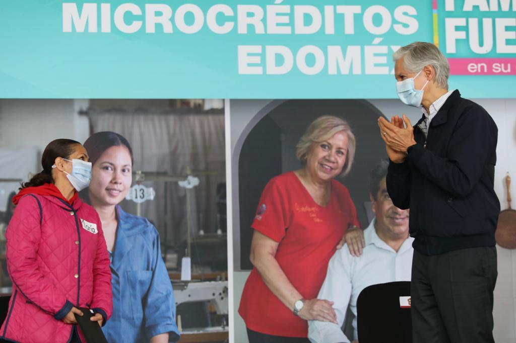 17 MIL MIPYMES SE HAN BENEFICIADO DEL PROGRAMA DE MICROCRÉDITOS EN EDOMÉX: ALFREDO DEL MAZO